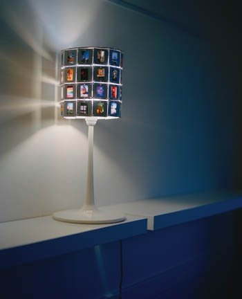 Lámpara de diapositivas
