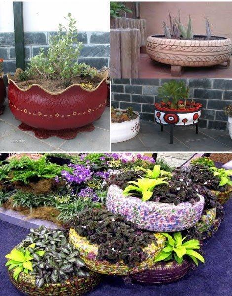 10 objetos diy y reciclados para decorar la terraza o