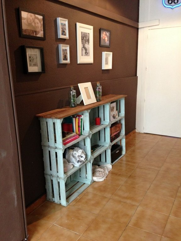 15 ideas para una decoraci n low cost blog fiaka - Cajas madera para manualidades ...
