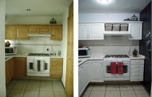 Renovar sin obras pisos de alquiler blog fiaka - Papel para forrar muebles de cocina ...
