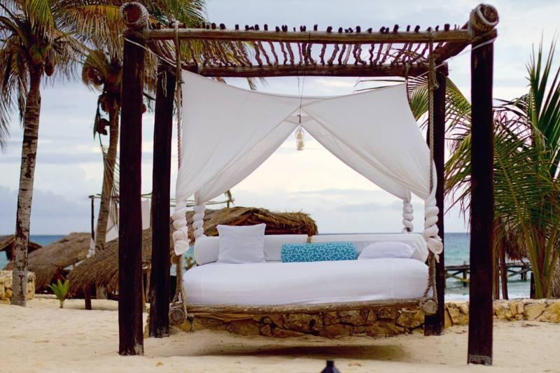 Un toque ex tico con la cama balinesa blog fiaka for Cama balinesa jardin