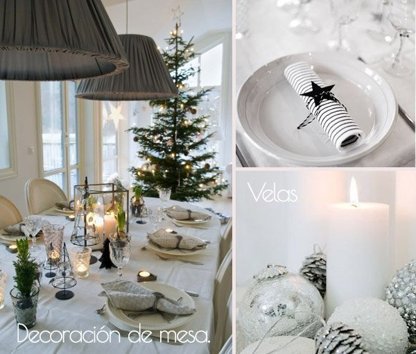 C mo decorar la mesa de navidad blog fiaka - Ideas para cena de nochevieja ...