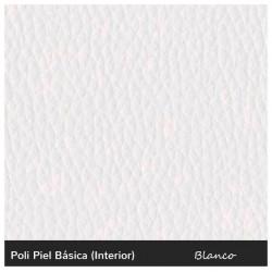 Cabrera Single Sofa - Leatherette White