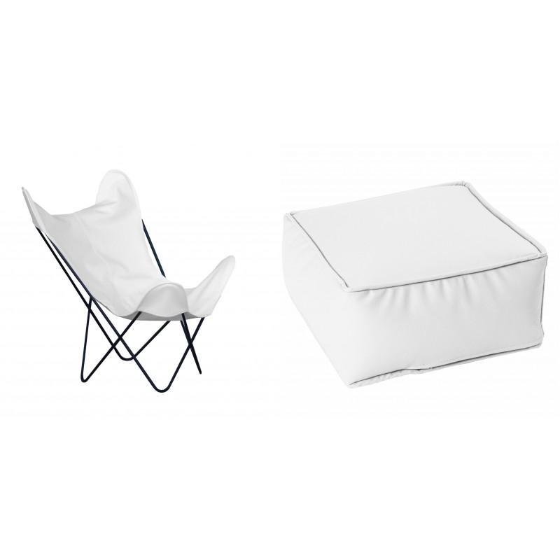 Terrace Pack - Nautic (Leatherette) White