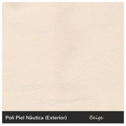 Cíes Single Sofa - Nautic (Leatherette) Beige
