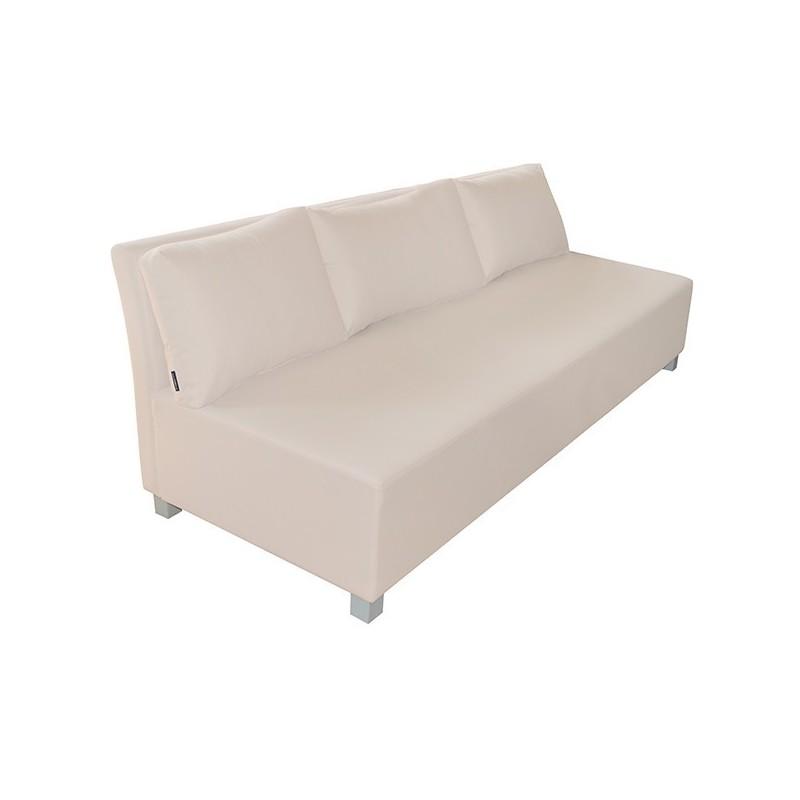 Cíes Three-Seater Sofa - Nautic (Leatherette) Beige