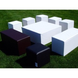 Puff Banco Rectangular 90x37