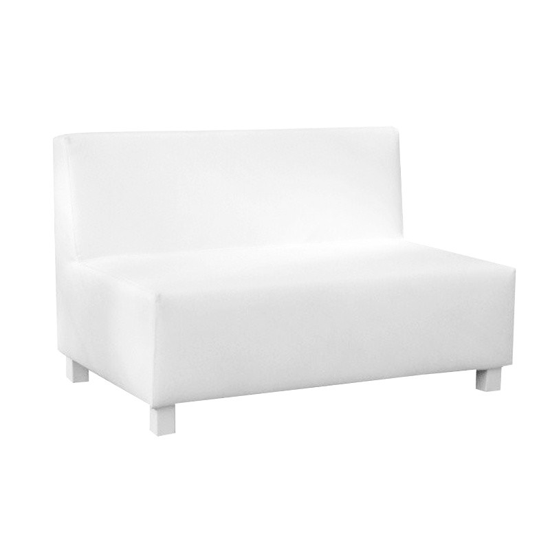 Gran Canaria Two-Seater sofa - Leatherette White