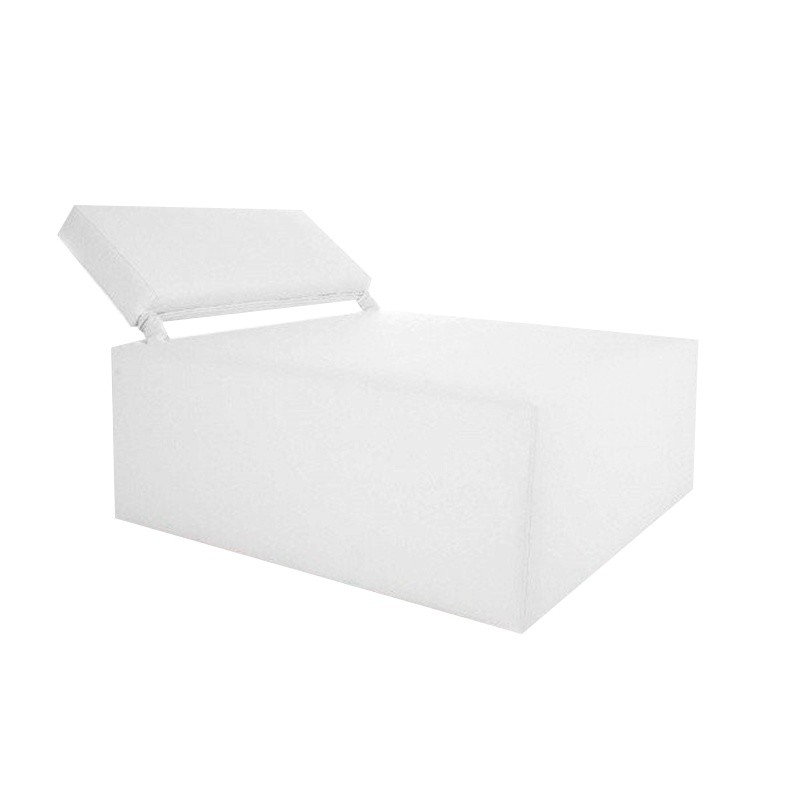 Modular Sofa 90 - Leatherette White Yes