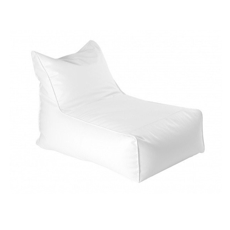 Cala Lounger - Nautic (Leatherette) White