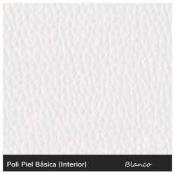 Puff Tatami Cama - Polipiel Blanco 77 cm.