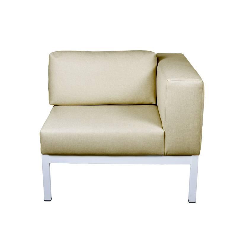 Lanzarote Corner Sofa - Nautic (Leatherette) Beige