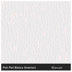 Puff Confort - Polipiel Blanco