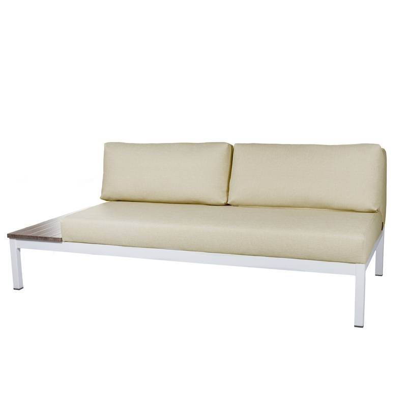 Lanzarote Two-Seater Sofa - Nautic (Leatherette) Beige