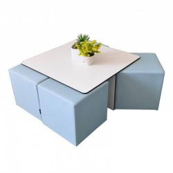 Quatro Table and Rigid...