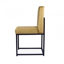 Atenea Chair - Black Leatherette Black
