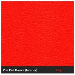 Taburete Alto Boston - Rojo Polipiel Boston Alto