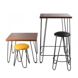 Chicago Low Table - 70x70x57 cm
