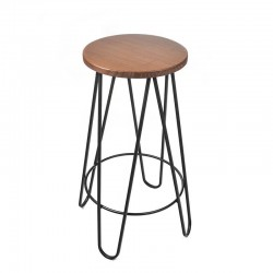Chicago XX High Stool - Natural Redondo