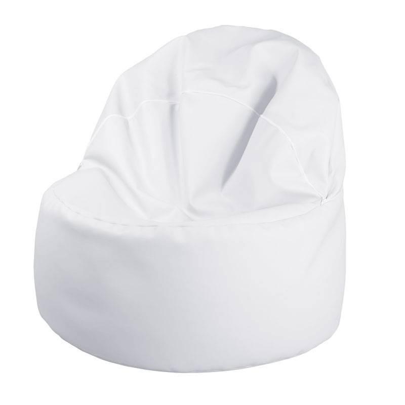 Puff Confort - Polipiel Blanco
