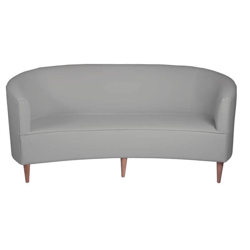 Sofá Lotus - Polipiel Plata