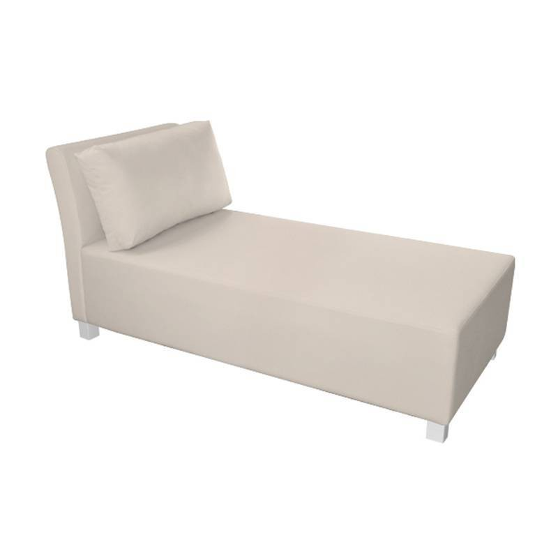 Cíes Chaise Longue - Nautic (Leatherette) Beige