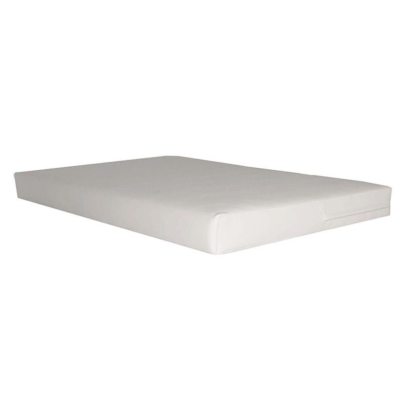 Cojín Asiento para Palet 100x120 cm. - Polipiel Beige 10 cm.