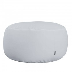 Comfort Pouf - Outlet - Nautic (Leatherette) Perl gray