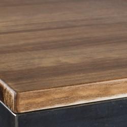 copy of Mesa Baja Industrial - 70x70x106 cm