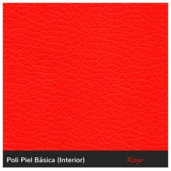 Puff Arcón - Outlet - Rojo Polipiel Sin patas Puff Arcón 90