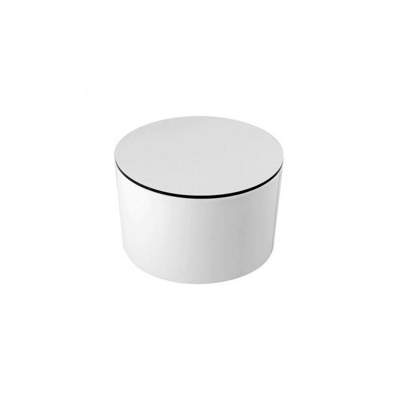 Mesa cilindro rígido fenólico - Náutico (Poli Piel) Sin patas Blanco
