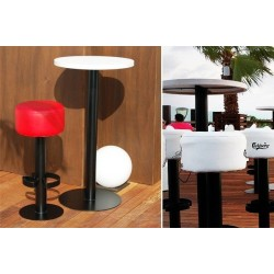 Mesa Lounge Alta Redonda
