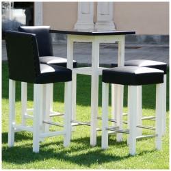 Lacquered Square Table - Lacado Negro