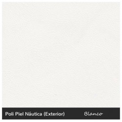 Bahia Lounger - Nautic (Leatherette) White