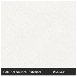 Chester Single Sofa - Nautic (Leatherette) White
