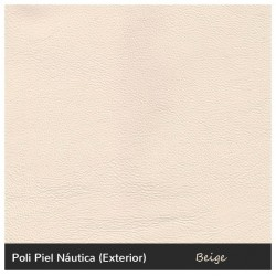 Vintage Single Sofa - Nautic (Leatherette) Beige