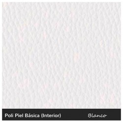 Vintage Bench - Nautic (Leatherette) White