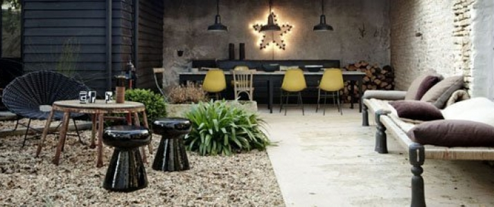 muebles para una terraza chill out