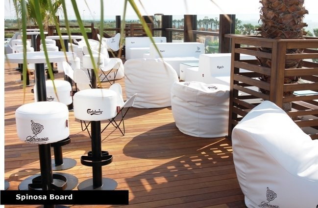 Terraza chill out con muebles for Terraza chill out