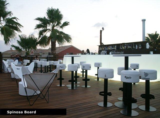 Muebles chill out de Fiaka en Spinosa Boards