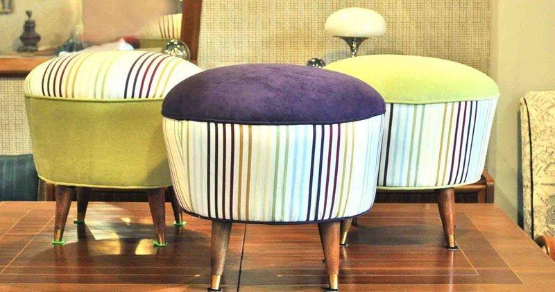 Reciclaje de muebles y pufs blog fiaka - Como hacer un puff redondo ...