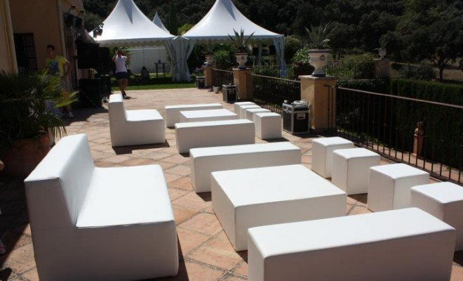 Boda chill out organizada por One2one Marketing en Ronda.