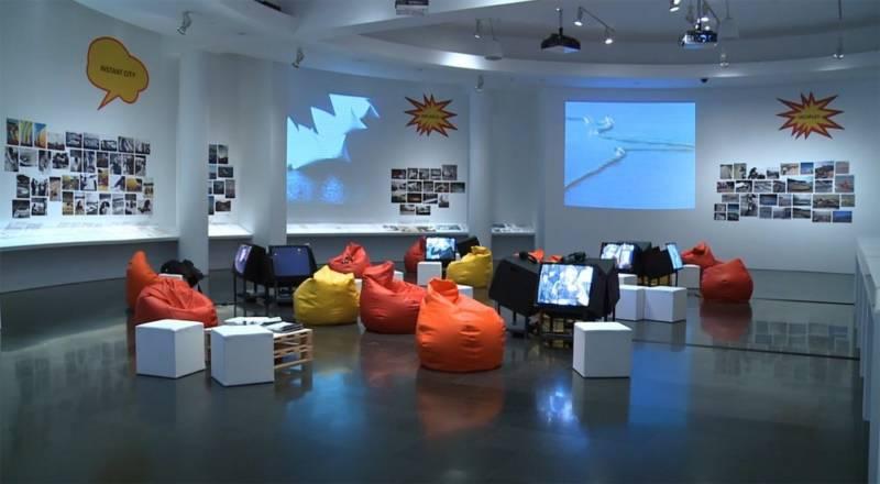 Exposición sobre el ICSID en el MACBA