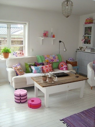 Decoraci n a todo color - Decoracion estilo hippie chic ...