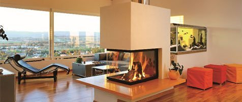 Chimeneas para decoraci n chill out lounge - Decoracion chill out interiores ...