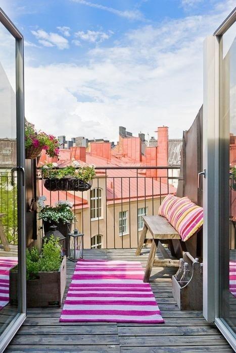 Decoración de terrazas y balcones