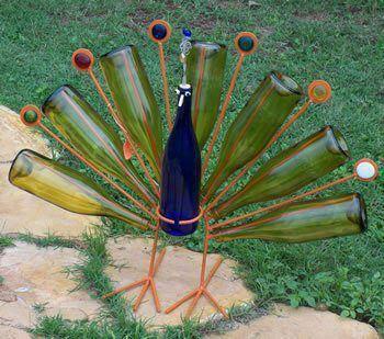 10 objetos diy y reciclados para decorar la terraza o jard n for Como decorar el jardin con cosas recicladas