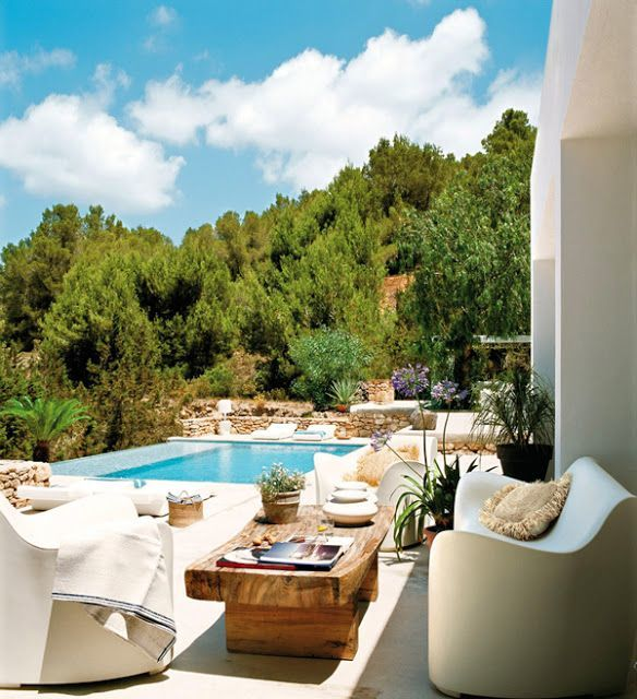 Condejos para la decoraci n de exteriores for Columpio de terraza homecenter