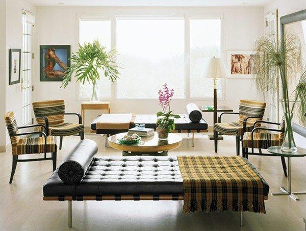 El diván en la decoración