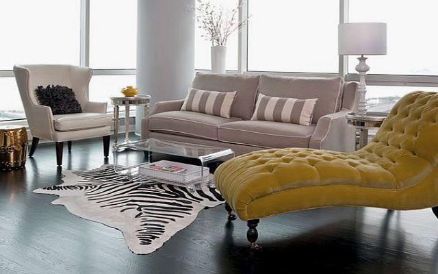 decoración con divanes